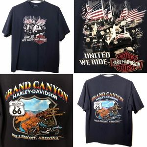 {2006}Harley Davidson 'United We Stand' Shirt 🇺🇸
